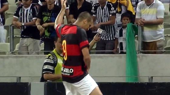 Copa do Nordeste 2014, final: Ceará 1x1 Sport. Crédito: Rede Globo/reprodução