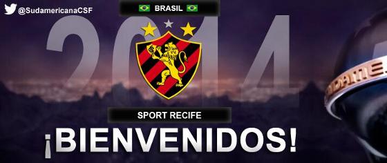 Mensagem da Conmebol ao Sport pela classificação à Sul-Americana de 2014