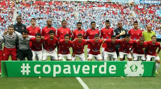 Copa Verde 2014, final: Brasília 2 (7) x (6) 1 Paysandu. Foto: CBF/divulgação