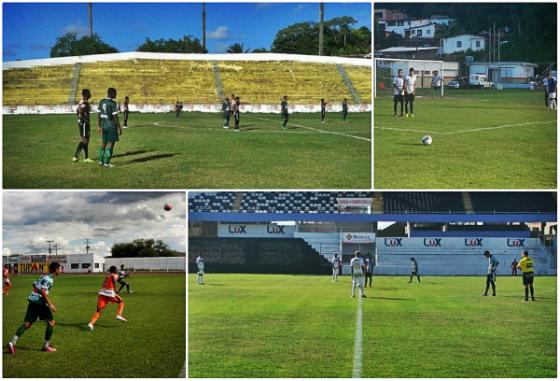 Perambucano Sub 20 de 2014: jogos no Ademir Cunha, Camaragibe, Serra Talhada e Caruaru. Fotos: Site Oficial da FPF