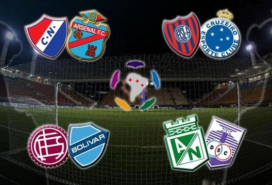 Quartas de final da Libertadores 2014. Crédito: Conmebol