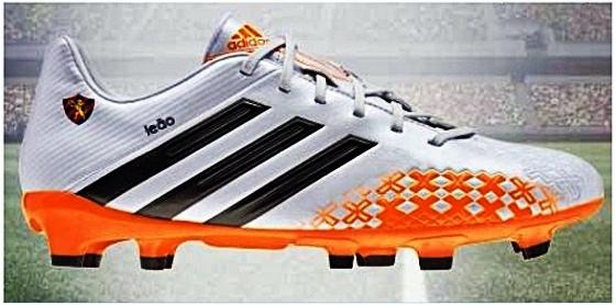 Chuteira da Adidas personalizada do Sport. Crédito  Sport Instagram 8506fab17245a