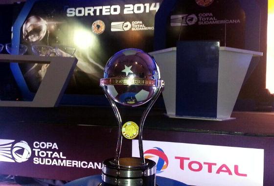 Sorteio da Copa Sul-Americana de 2014. Crédito: Conmebol