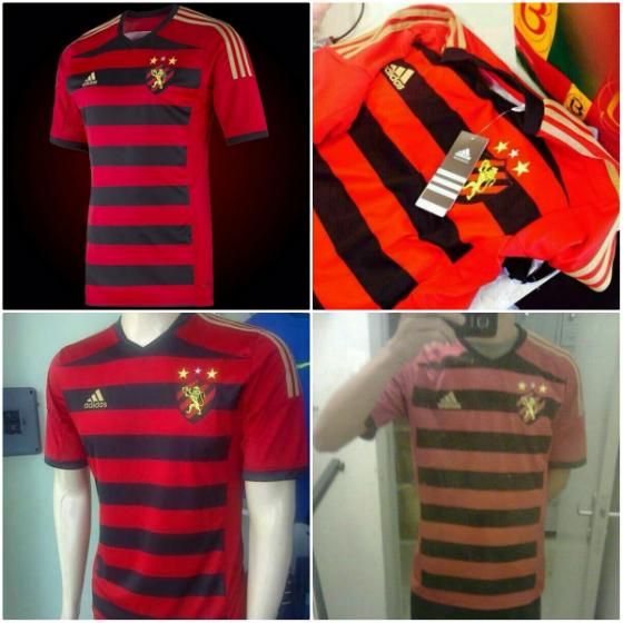 Camisas do Sport produzidas pela Adidas em 2014 13d3f338e6949