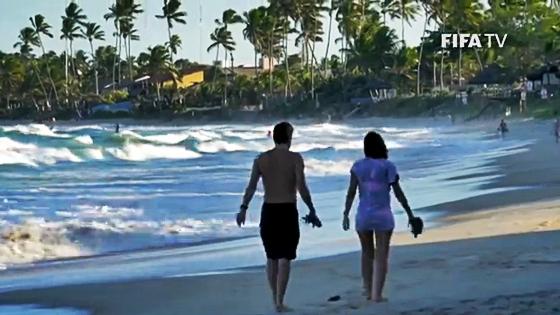 O Grande Recife no vídeo oficial da subsede para a Copa do Mundo de 2014. Crédito: Fifa/youtube