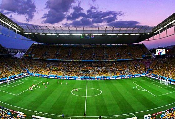 8dfd9c3b54 Estatística do jogo Brasil 3x1 Croácia na Copa do Mundo de 2014. Crédito   Kevin
