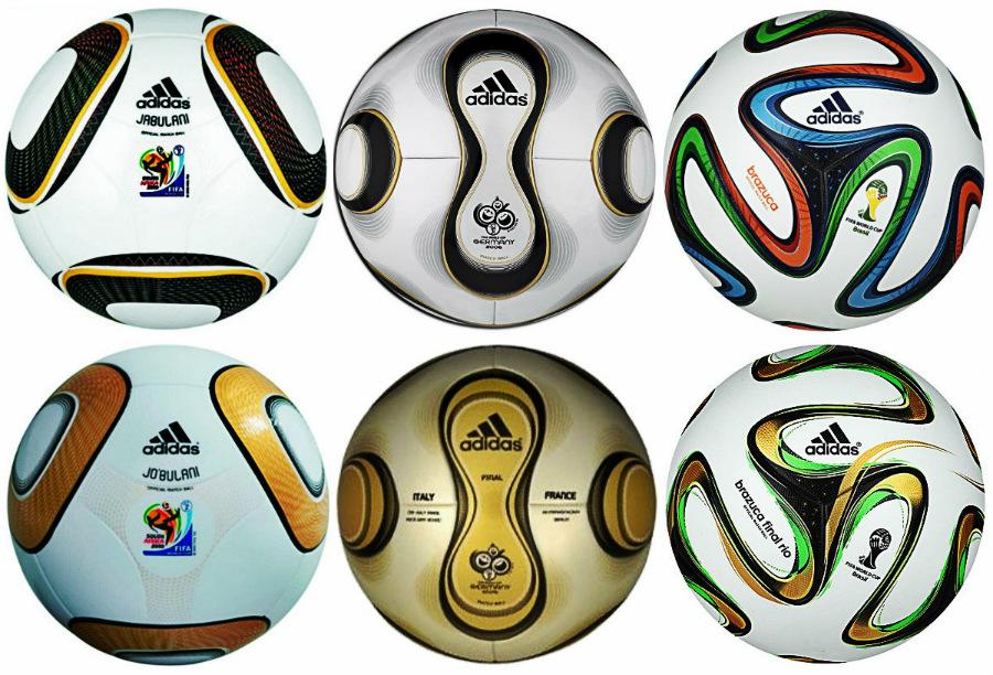 Bolas oficiais da Copa ... 4e9a52a9f9db8