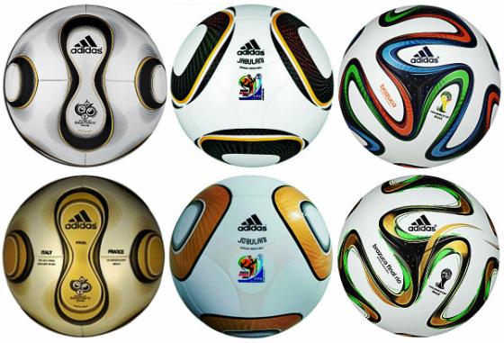 bfb389f836 Bolas oficiais da Copa e das finais da Copa de 2006