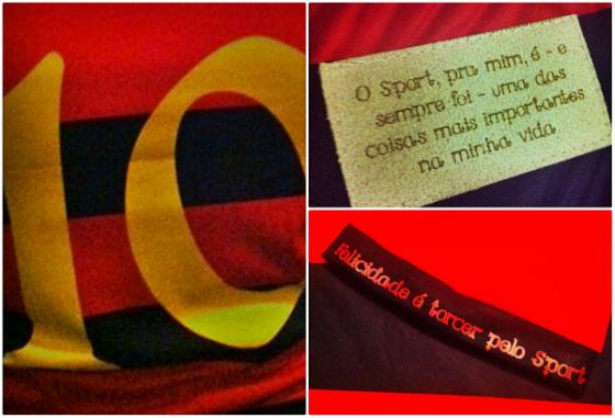 Camisa especial do Sport para Ariano Suassuna. Foto: Alexandre Barbosa/DP/D.A Press
