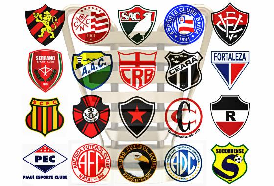 Os 20 clubes do Nordestão de 2015