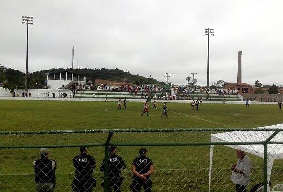 Pernambucano 2014 Série A2 (Sub 23). Barreiros 3 x 1 Ferroviário do Cabo. Foto: FPF/Assessoria