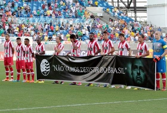Série B 2014, 16ª rodada: Luverdense 0x2 Náutico. Foto: CHICO FERREIRA/FUTURA PRESS
