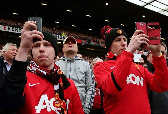 Manchester United proibiu o uso de ipads no Old Trafford. Foto: Getty Images