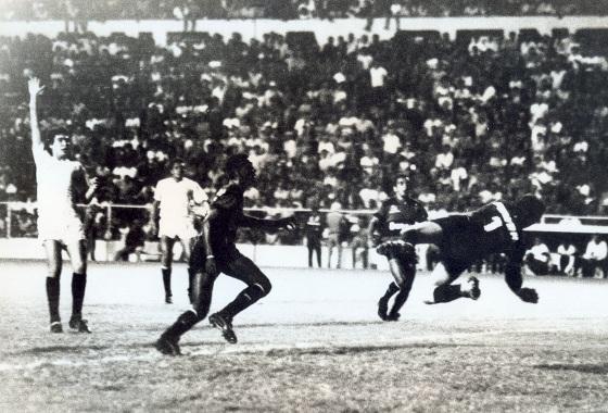 Libertadores de 1988, 1ª fase: Sport 0x0 Universitario (PER). Foto: Arquivo/DP