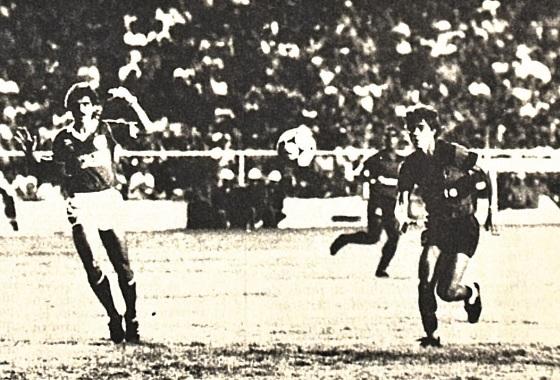 Libertadores de 1988, 1ª fase: Sport 0x1 Guarani. Foto: Mauricio Coutinho/DP/D.A Press