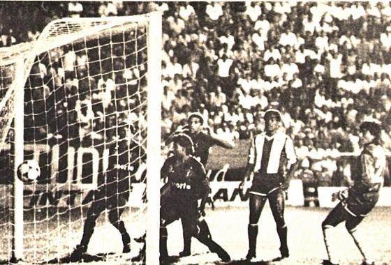 Libertadores de 1988, 1ª fase: Sport 5x0 Alianza (PER). Foto: Carlos Teixeira/DP/D.A Press