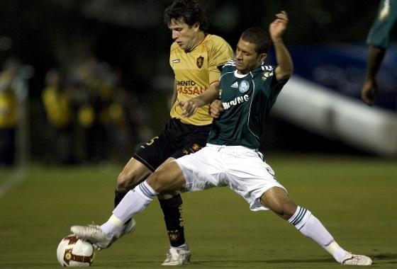 Libertadores de 2009, oitavas de final: Palmeiras 1x0 Sport. Foto: EFE/Sebastião Moreira.