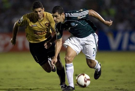 Libertadores de 2009, fase de grupos: Palmeiras 1x1 Sport. Foto: EFE/Sebastião Moreira