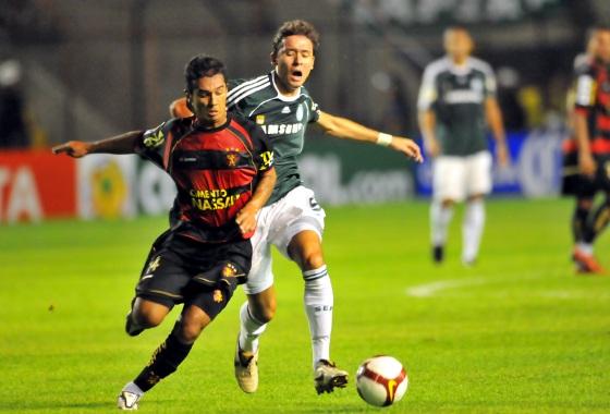 Libertadores de 2009, fase de grupos: Sport 0x2 Palmeiras. Foto: Helder Tavares/DP/D.A Press
