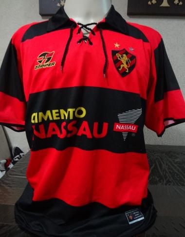 A camisa do centenário do Sport, em 2005