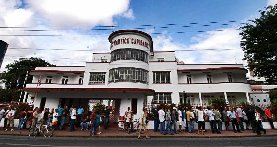 Sede do Náutico, na Avenida Rosa e Silva. Foto: Blenda Souto Maior/DP/D.A Press