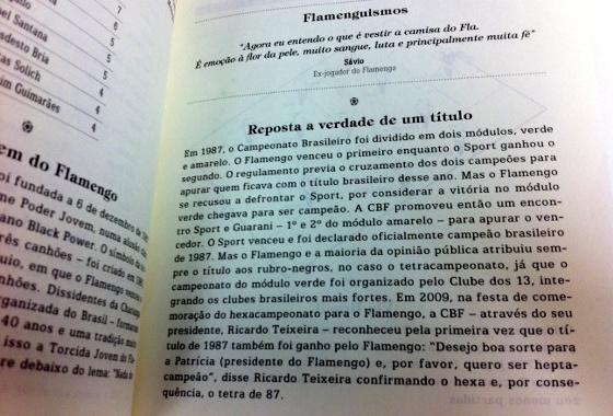 Bíblia do Flamengo, página 65. Foto: Cassio Zirpoli/DP/D.A Press