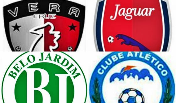 Vera Cruz, Jaguar, Belo Jardim e Atlético Pernambucano, os semifinalistas do Pernambucano Sub 23 de 2014