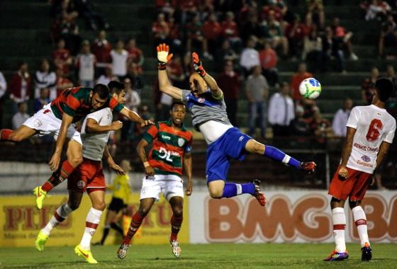 Série B 2014 25ª rodada: Portuguesa 0x0 Náutico. Foto: ALE VIANNA/BRAZIL PHOTO PRESS/ESTADÃO CONTEÚDO