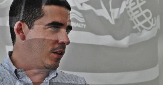 Constantino Júnior, dirigente do Santa Cruz em 2014. Foto: Ricardo Fernandes/DP/D.A Press