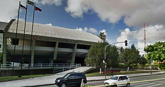 Sede do Sport, na Avenida Abdias de Carvalho. Crédito: Google Maps