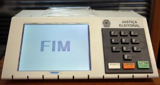 Urna eletrônica. Foto: U.Dettmar/Divulgação TSE