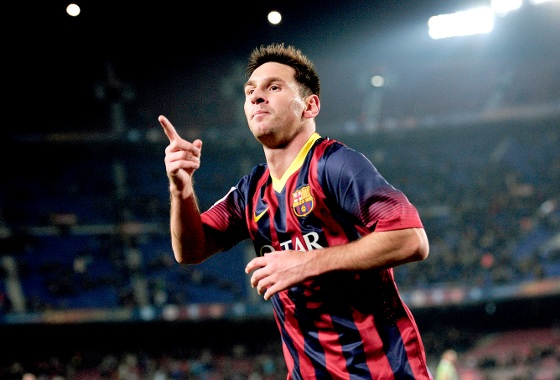 Lionel Messi no Barcelona. Foto: AFP