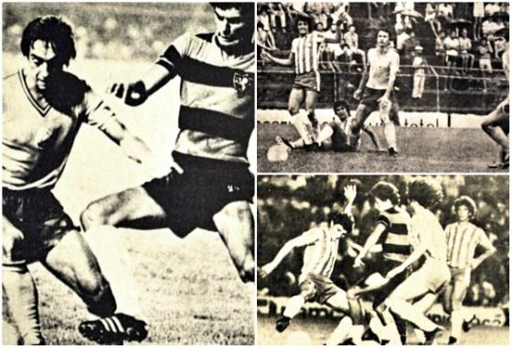 Jogos do triangular válido pelo Torneio Leopoldo Casado, de 1980, com Sport, Náutico e Seleção da Romênia. Fotos: Arquivo/DP