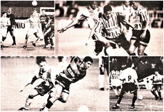 Torneio Internacional da Amizade de 1995, com jogos entre Náutico, Santa Cruz, Sport e Porto. Fotos: Edvaldro Rodrigues e Carlos Teixeira/DP/D.A Press