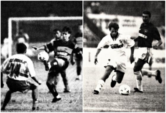 Copa Renner de 1997, Sport 3x3 Bahia e Nacional-URU 5x2 Cerro Porteño-PAR. Fotos: Léo Caldas/DP/D.A Pres