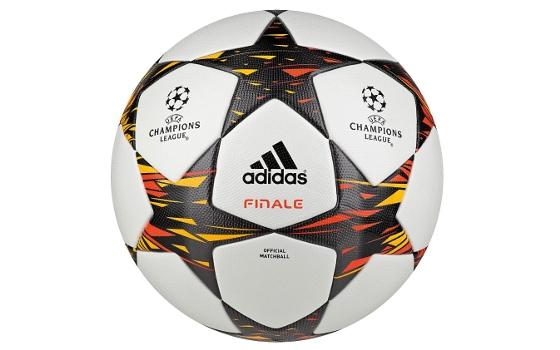 Bola oficial da final da Liga dos Campeões 2014-2015. Crédito: Adidas/divulgação