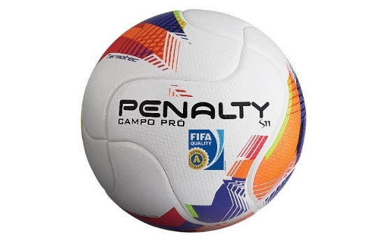 Bola oficial do Campeonato Pernambucano de 2015. Crédito: Penalty/divulgação