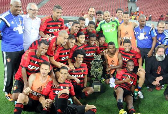 Taça Ariano Suassuna 2015, Sport 2x1 Nacional. Foto: sportrecife/facebook