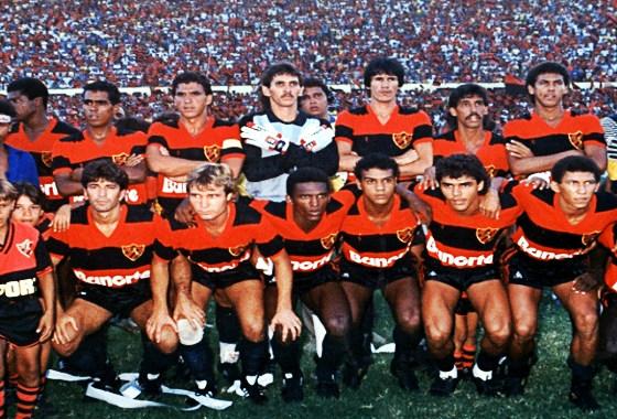 Sport final do Campeonato Brasileiro de 1987, em 7 de fevereiro de 1988. Foto: Ribamar/arquivo pessoal