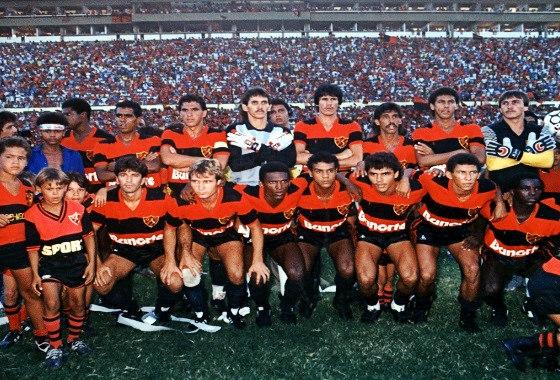 Série A 1987, final: Sport 1 x 0 Guarani. Foto: Ribamar/arquivo pessoal