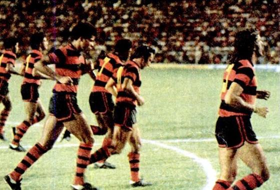 Sport em ação no Campeonato Brasileiro de 1975. Foto: Placar/reprodução