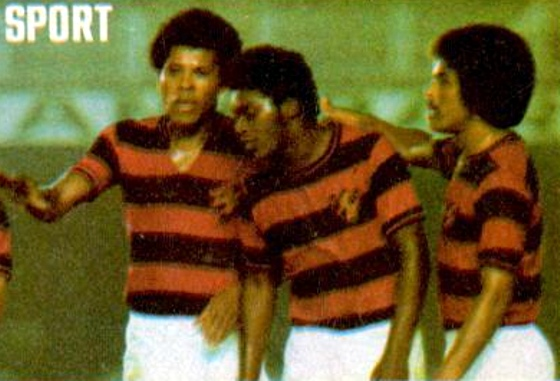 Dario, principal estrela do Sport em 1975. Foto: Placar/reprodução