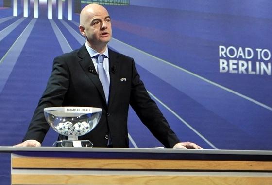 Sorteio das quartas de final da Champions League 2014/2015. Foto: Site oficial da Uefa