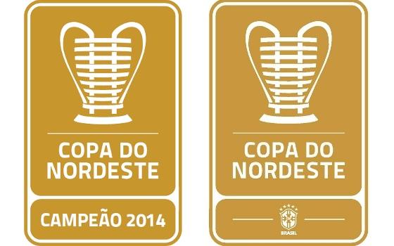Patchs da Copa do Nordeste 2015. Crédito  divulgação 3c18a7dfac103