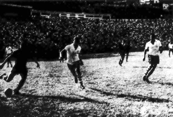 Taça Brasil de 1963, quartas de final: Bahia 1x0 Sport. Foto: Arquivo DP/D.A Press