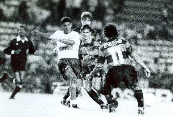 Copa do Nordeste 1994, semifinal: Sport (4) 1x1 (3) Bahia. Foto: Heitor Cunha/DP/D.A Press