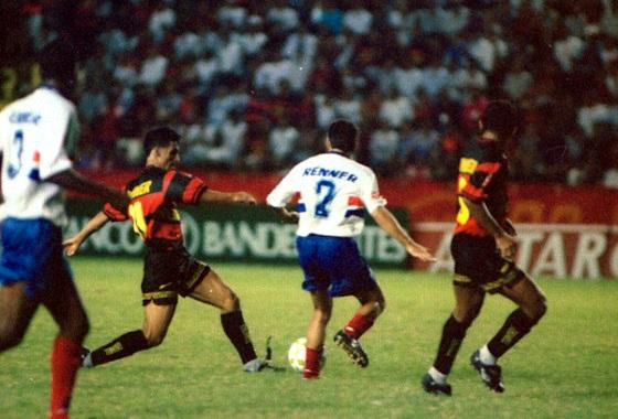 Copa do Nordeste 1997, semifinal: Sport 1x1 Bahia. Foto: Clemilson Campos/DP/D.A Press