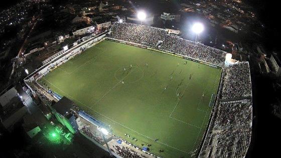 Estádio Cornélio de Barros. Foto: Salgueiro AC/facebook