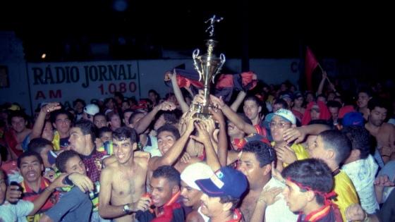 Pernambucano 1997, Porto 0x2 Sport. Foto: Otavio de Souza/DP/D.A Press