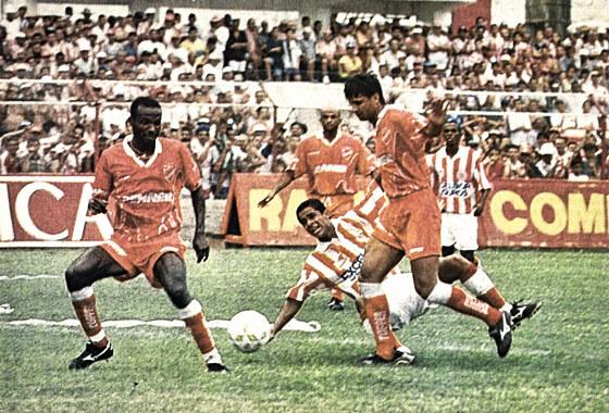 Série B 1997: Náutico 0x3 Vila Nova. Foto: Arquivo/DP/D.A Pres